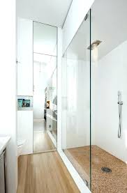 ceiling mirror floor to shower wall storage beautiful glass contemporary bathroom bedroom tiles uk installation