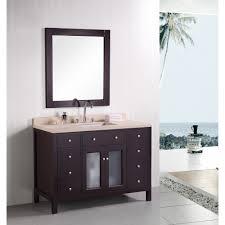 design element venetian 48 single sink bathroom vanity espresso free modern bathroom