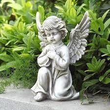 angel garden statue. praying angel garden statue e
