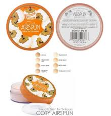 Coty Airspun Powder Color Chart Coty Airspun Translucent Powder Never Looks Cakey And