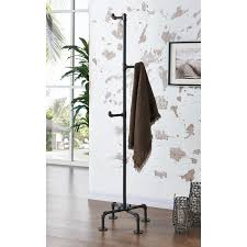 Overstock Coat Rack BronxMetal Pipe Style Coat Rack Free Shipping Today Overstock 13