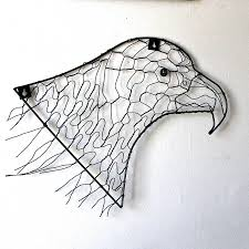 eagle wire wall art