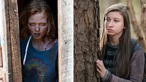 walking dead is enid a remixed version of sophia hollywood reporter