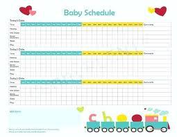 Baby Routine Template Dietetica Info