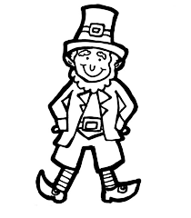 Small Picture Leprechaun Classic Leprechaun Costume for Parade Coloring Page