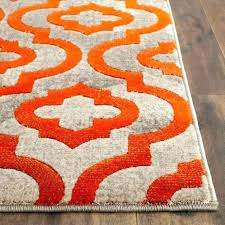 gray and orange area rug gray and orange area rug excellent rugs magnificent burnt best decor gray and orange area rug