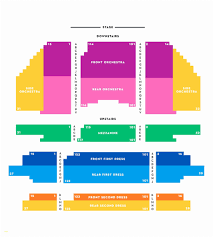 Oakdale Theater Wallingford Seating Chart Cibc Theater Dress Circle Left Cibc Theater Map