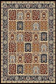 traditional oriental medallion persian area rug black traditional area rugs by furnishmyplace