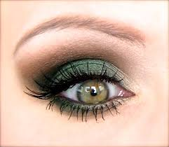 mac makeup tutorial green smokey eye