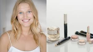 fresh everyday face with toni garrn