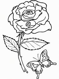 Small Picture Coloring Pages Rosa Eglanteria Or Sweet Briar Rose Coloring Page