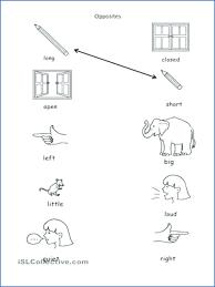 opposites preschool worksheets – joetrainer.co