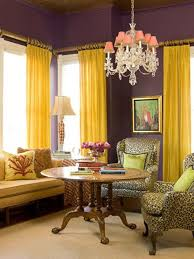 Purple And Yellow, For The Bedroom Instead
