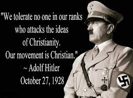 Hitler Quotes Christianity
