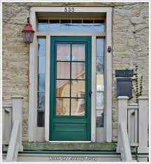 country front doorsFlirtatious Front Doors  Town  Country Living
