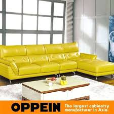 yellow leather sofa placeholder set living room furniture modern high quality gorgeous sectional