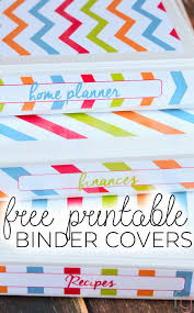 Free Editable Binder Covers And Spines Binder Covers Free Printable