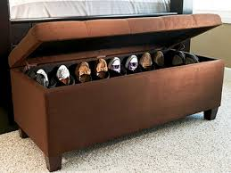 shoe storage ottoman bench. Gallery Shoe Storage Ottoman Bench Intended