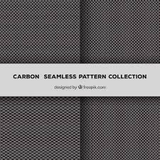 ベクトルのシー ムレスなカーボンファイバーパターン ベクター画像