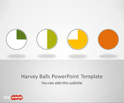 Harvey Balls Chart Template Free Harvey Ball Powerpoint Templates