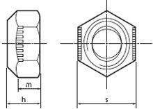 Stover Nut Torque Chart Stover Nut Din 980v Fastenright Ltd