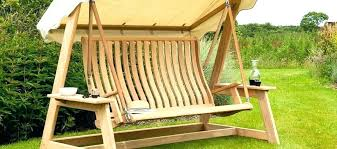 cosy wooden swinging benches outdoor wooden swinging bench seat
