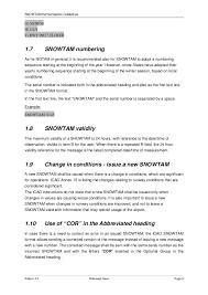 snowtam harmonisation guidelines 11