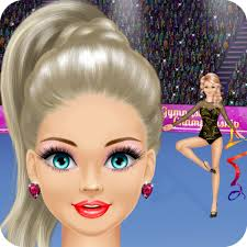 gymnastics salon spa makeup and dress up gymnast makeover y games amazon ca app for android
