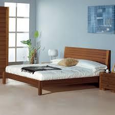 Teak Bedroom Furniture Shop Beverly Hills Furniture Alpha Teak Queen Size Platform Bed At