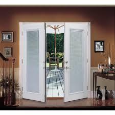 reliabilt 6 reliabilt french patio door steel blinds between the glass tilt and raise