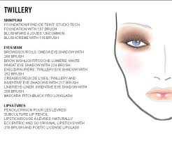 Mac Face Chart Twillery Mac Face Charts Your Unqiue Free
