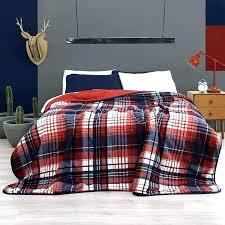 ralph lauren plaid bedding red set to guarantee teen free tartan comforter sets