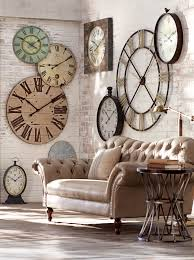 Decorative Wall Clocks For Living Room Is It Time For An Update Try A Statement Making Wall Clock Weve