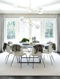 stunning scandinavian dining room with large round table white white round dining table and chairs white