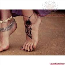 Dream Catcher Tattoo Foot