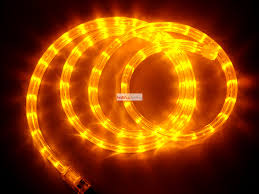 120v Led Rope Light 120v Led Rope Light 2 Wire Flat In Yellow Hl Lr 2f 04 Y