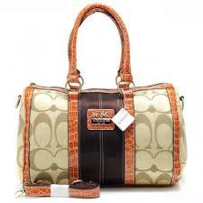 Coach In Signature Medium Khaki Luggage Bags APT