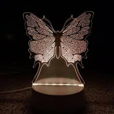 home lighting effects. DEESEE(TM) 3D Unique Lighting Effects Optical Home Decor LED Remote Control Table Lamp E