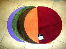 semi circle rugs half rug bathroom round bath area ideas rugby scrum crochet pattern canada black best ha