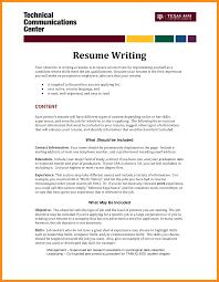7 Write Resume Objective Agenda Example