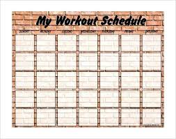 Work Out Charts Template Free Printable Weekly Workout Chart Donatebooks Co