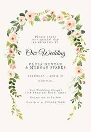 Wedding Invitatiins Wedding Invitation Templates Free Greetings Island