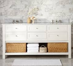 pottery barn double vanity. Classic Double Sink Vanity White Throughout Pottery Barn