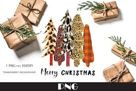 Leopard Christmas Tree Png Graphic By Natashaprando Creative Fabrica