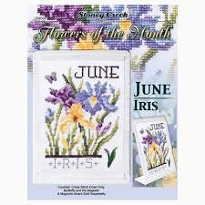 Month Flowers Chart Flowers Of The Month June Iris