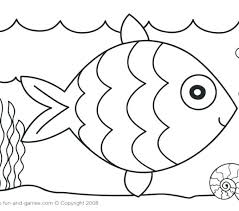 fish coloring pages for preers rainbow get this free printables