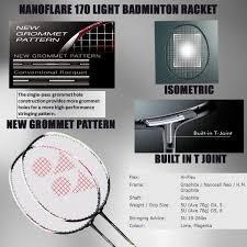 Nanoflare 170 Light Review Of Latest 2019 Yonex Nanoflare Series Khelmart Blogs