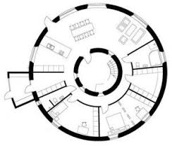 64 best homes images on pinterest architecture, projects and Parent Trap House Plansranch Home Plans L Shaped the floor plan for a round house that was recently built in borlänge, sweden