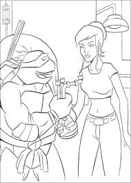 Free Ninja Turtles Coloring Pages Teenage Mutant Ninja Turtles