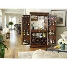 Cherry Bar Cabinet Howard Miller Sonoma Wine Bar Cabinet In Cherry 695 064 Home